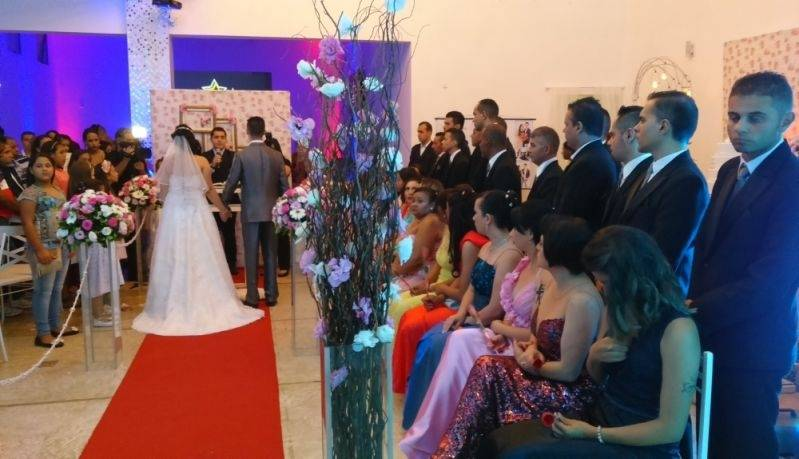 Orçamentos de Salão para Casamentos Santo André - Salão para Casamento
