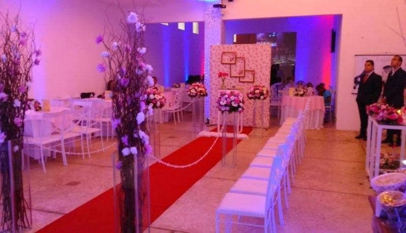 Salão de Casamento para 100 Pessoas no Abc São Caetano do Sul - Salão para Festa de Casamento Completo
