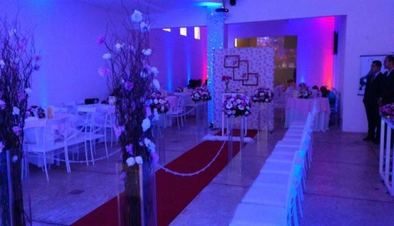 Salão de Casamento para 100 Pessoas Preços São Bernardo do Campo - Salão para Jantar de Casamento