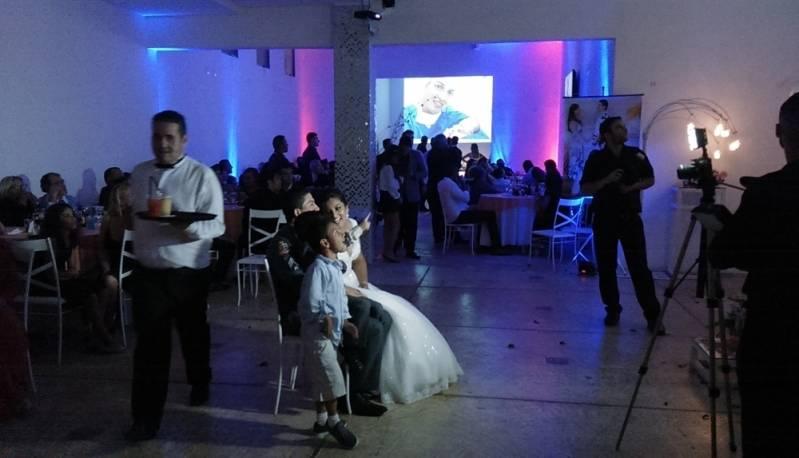 Salão de Casamento para 200 Pessoas Preços Santo André - Salão para Festa de Casamento