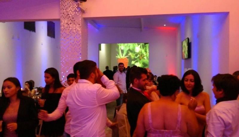 Salão de Festa Corporativa Preços São Caetano do Sul - Salão para Festa de Confraternização