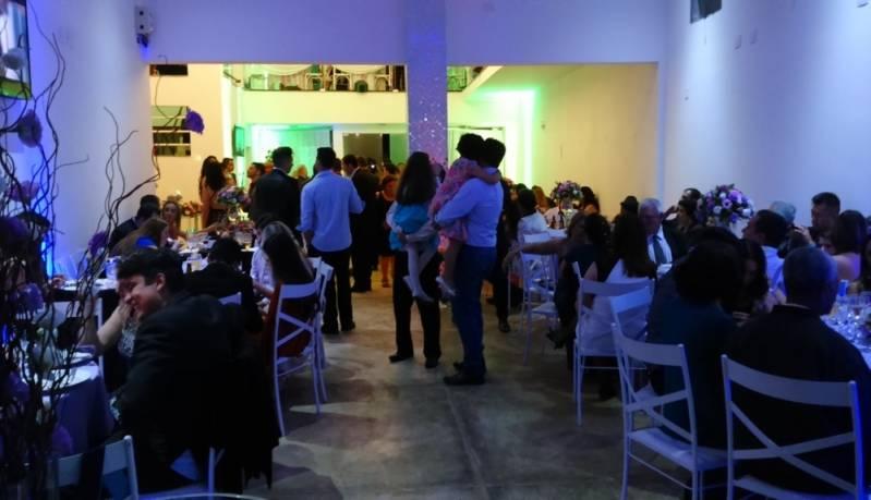 Salão de Festas de Empresas Santo André - Salão para Empresa