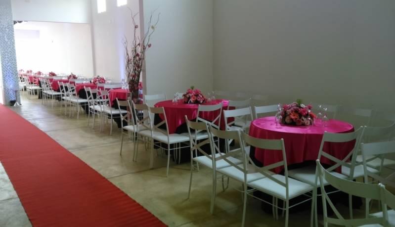 Salão para Aniversário de Debutante Barato Santo André - Salão para Festa de Debutante