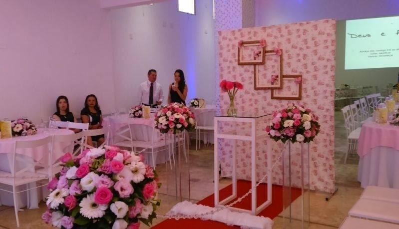 Salão para Festas de Casamento São Bernardo do Campo - Salão para Cerimônia de Casamento