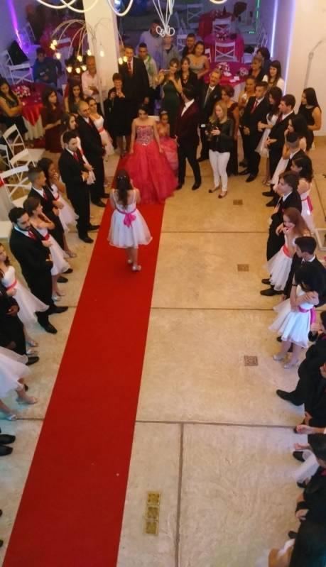Salão para Festas de Quinze Anos Diadema - Salão para Festa de Debutante