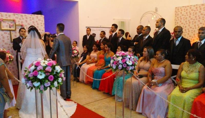 Salão para Jantar de Casamento Preços São Caetano do Sul - Salão para Casamento com Tudo Incluso