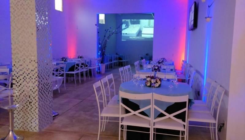 Salão para Quinze Anos Barato Santo André - Salão para Aniversário de Debutante