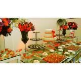 buffet para casamento cardápio preços Diadema
