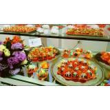 buffet para evento corporativo cardápio barato Diadema