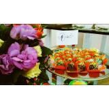 buffet para festa de aniversário cardápio