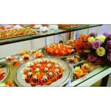 buffet para festas empresariais cardápio