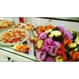 buffet para festas empresariais cardápio Santo André